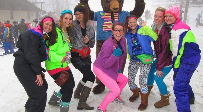 '80s Retro Ski Weekend Returns to Beech Mountain