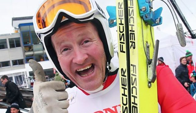 Eddie the Eagle Finally Finds Gold in Golden