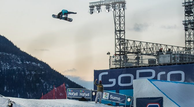 Sebastian Toutant earns X Games Norway Bronze for Canada in men's snowboard slopestyle. (photo: Canada Snowboard)