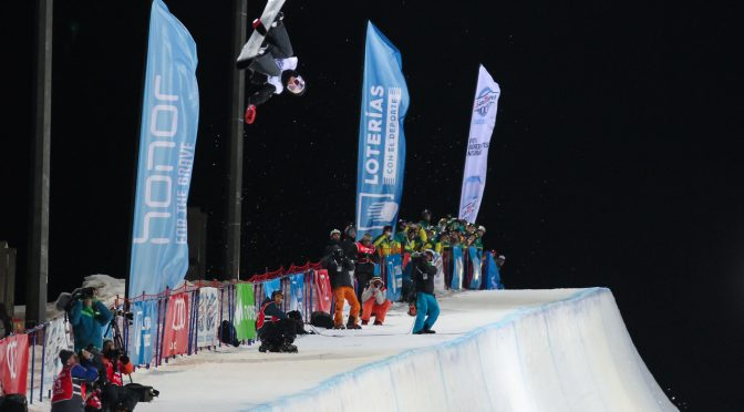 Defending Champion Halfpipe Snowboarders Keep Their Titles