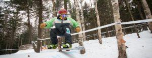 Killington's Slash & Berm Banked Slalom. (file photo: Killington Resort)