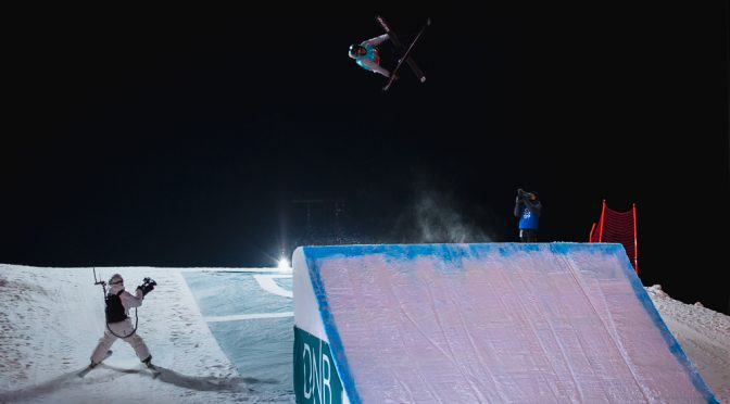Braaten, Killi Grab X Games Ski Slopestyle Golds at Home
