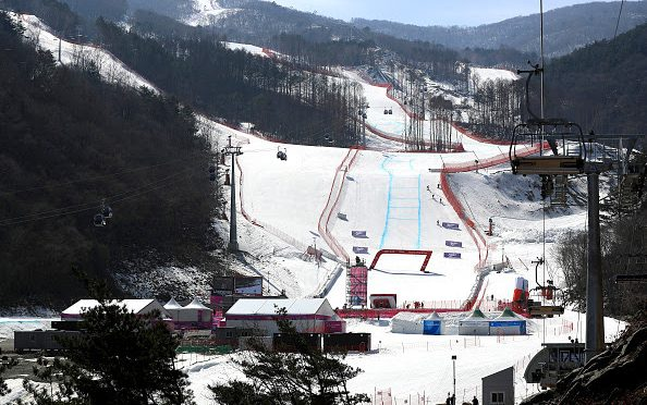 Big Olympic Test Event Weekend in South Korea