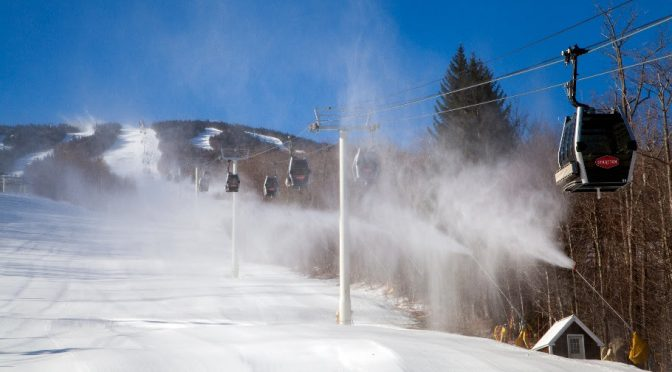 Vermont Ski Areas March into Spring with Winter Weather and Snowmaking Power