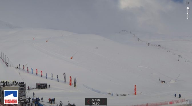 In-Bounds Avalanche Strikes Tignes