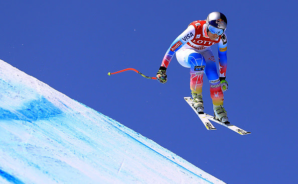 Vonn Finishes Second Behind Goggia in Olympic Downhill Test