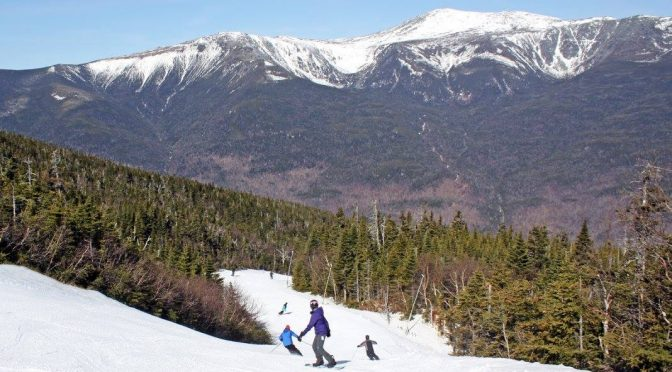 Skiing and riding can last well into spring at Wildcat in New Hampshire. (file photo: Wildcat Mountain)