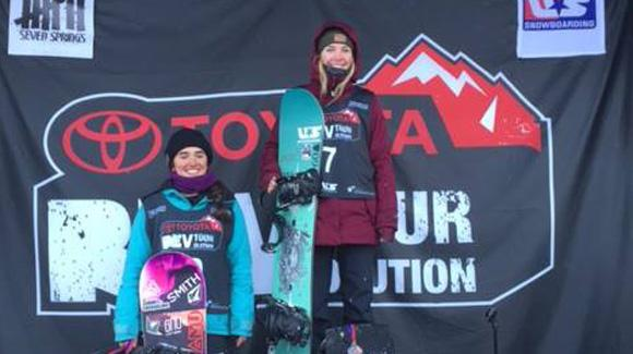 Healey and Caye Win Rev Tour Snowboard Titles