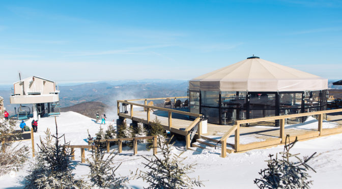 The summit of Beech Mountain, at 5,506 feet. (photo: Sam Dean Photography)