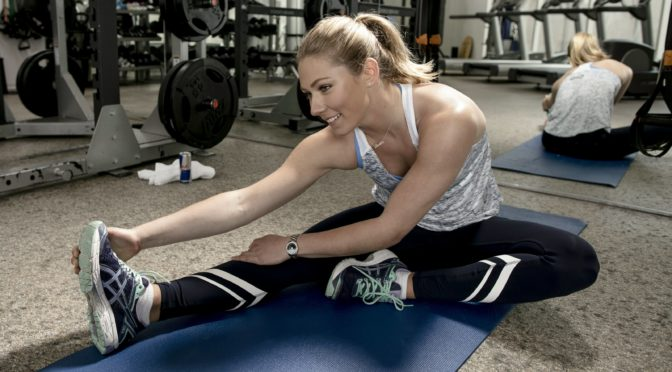 If you're a beginner, there's no need to work out like Mikaela Shiffrin. (photo: Dustin Snipes/Red Bull Content Pool)