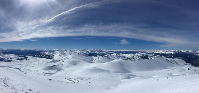 Views from Corralco Ski Resort. (photo: US Ski Team)