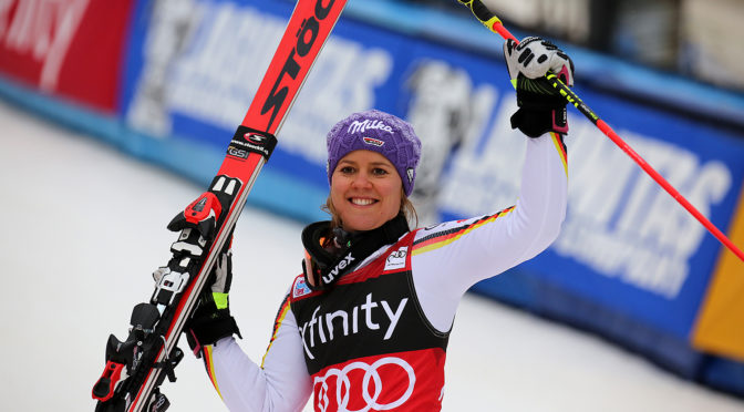 Rebensburg Wins Killington Giant Slalom