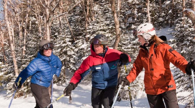 Beginners of all ages can take a lesson in Vermont. (file photo: Smugglers' Notch Resort)