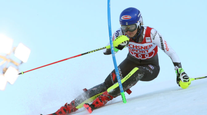 Shiffrin Wins Opening World Cup Slalom